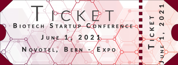 Ticket for Biotech Startup Conference, June 1, Novotel Bern Expo